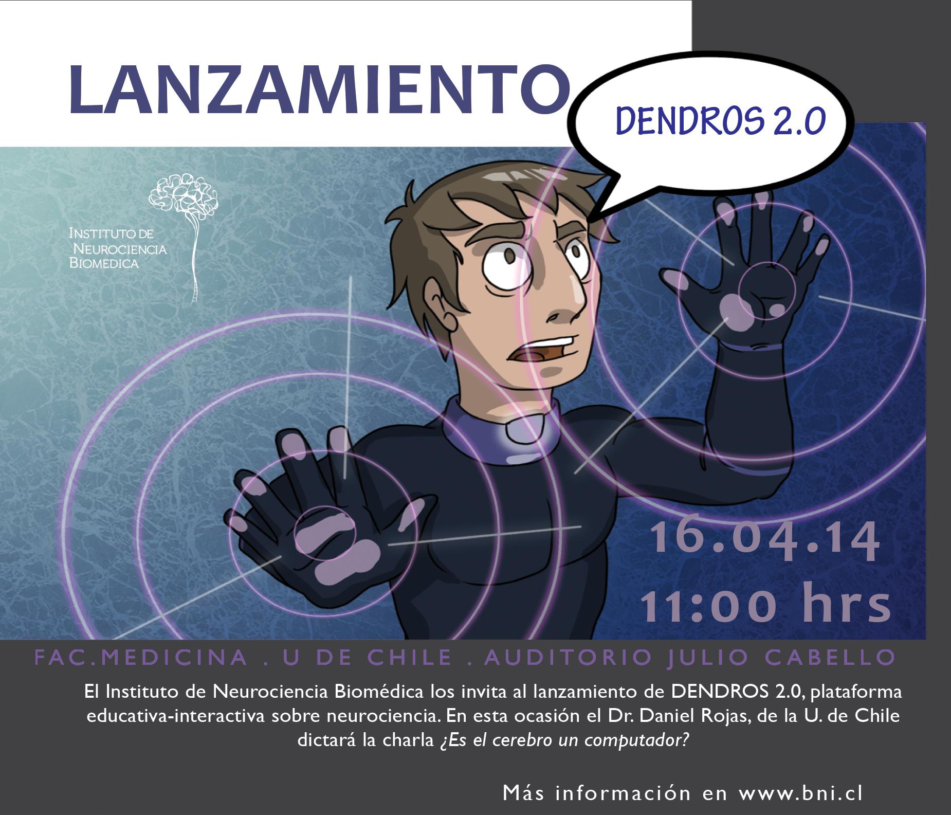 Leer más sobre el artículo CONFERENCIA DE DANIEL ROJAS EN INAUGURACIÓN DE DENDROS 2.0
