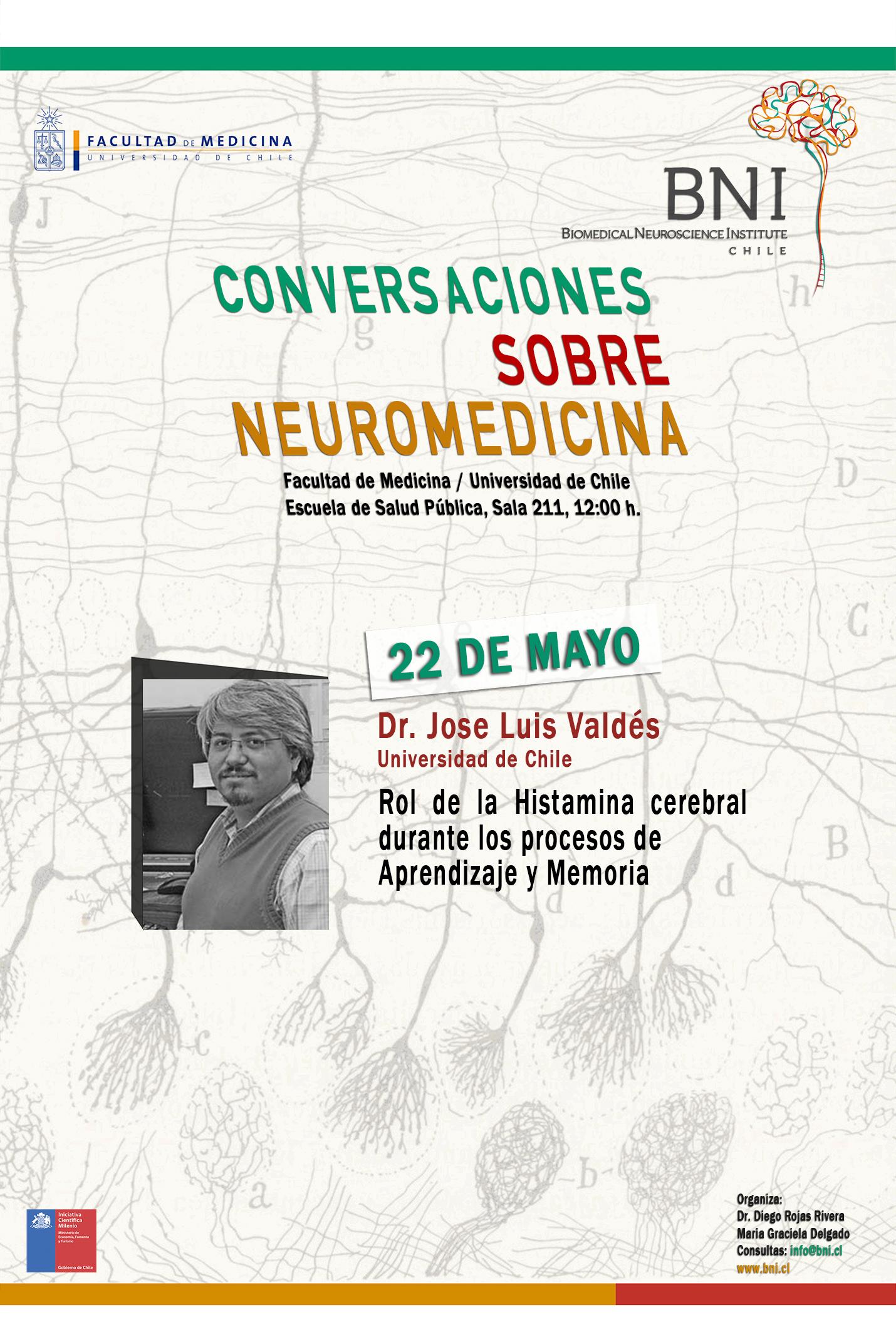 Leer más sobre el artículo CONVERSACIONES SOBRE NEUROMEDICINA DR. JOSÉ LUIS VALDÉS